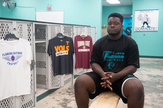 Manny Rogers is a Jensen Beach defensive tackle and the No. 2 player on the TCPalm Super 11. He is announcing his college choice exclusively on TCPalm.com.