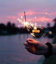 An attempt in Wyoming to break a world record for the most sparklers lit simultaneously failed on a technicality.