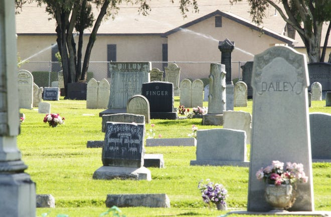 After a mosquito problem was found, The Visalia Public Cemetery needs to eliminate standing water in the cemetery.  They ask the public to turn over the vases at your loved one's grave sites and not bring fresh flowers until the mosquito has been eliminated from the area.