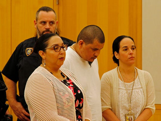 Jose Olmos was sentenced in Westchester County Court on July 11, 2019, to 20 years to life in prison for murdering Nurten Seljuk in New Rochelle on July 27, 2018.
