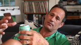 Sam Calagione said Boston Beer gives Dogfish Head more resources to take on the two beer giants.