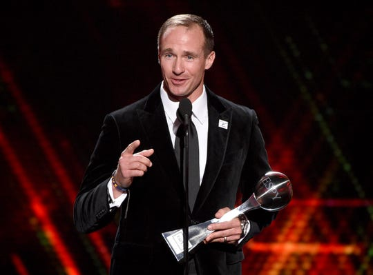 Best Record Breaking Performance: Drew Brees.