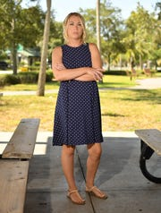 In early 2014, three years after Kristi Allen moved out, a code inspector came to the house, which had been vacant. Brown palm tree leaves littered the overgrown backyard. A neighbor told the inspector that something dead may have been rotting there. The swimming pool had turned into a bright green, mosquito-infested cesspool.