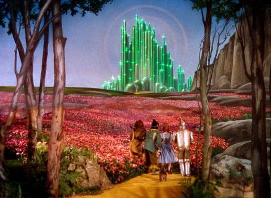 """A scene from the 1939 motion picture """"The Wizard of Oz."""""""