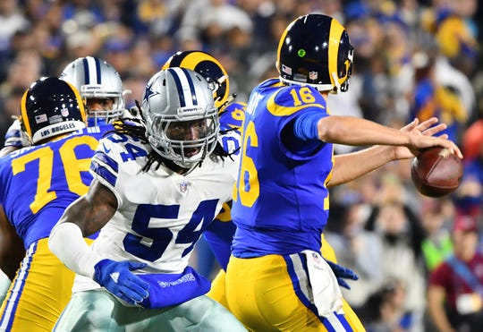 Linebacker Jaylon Smith (54) hopes to lead the Cowboys back to glory but also inspire young entrepreneurs.