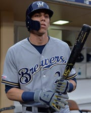 Milwaukee Brewers right fielder Christian Yelich has hit 31 home runs this season.