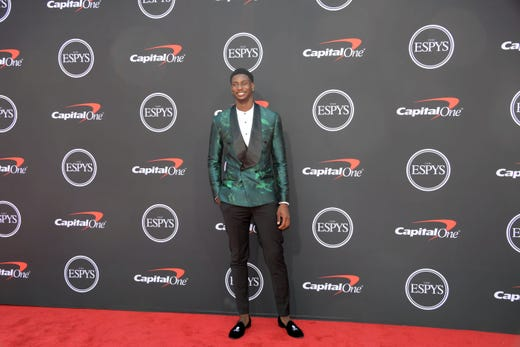 Jaren Jackson Jr., Memphis Grizzlies player.