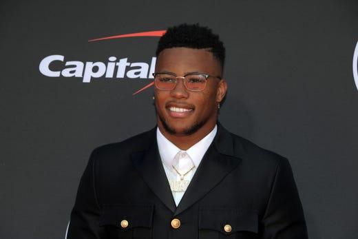 Saquon Barkley, New York Giants player.