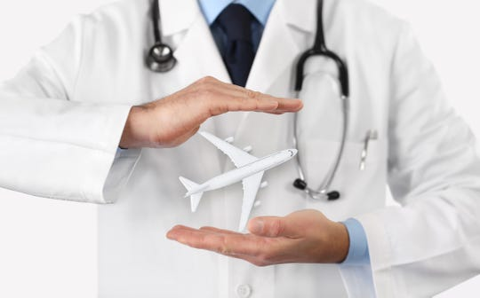 Anyone who isn't covered by their regular medical insurance when they're traveling should invest in a travel medical insurance policy. A few hundred dollars now could save you thousands in the case of an emergency.