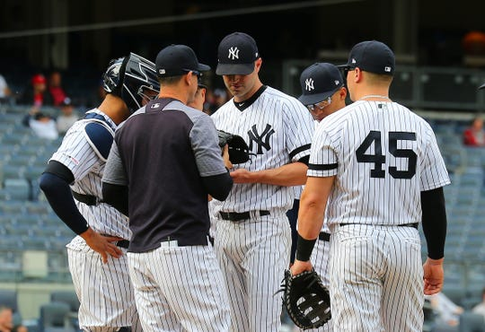 Yankees lefty J.A. Happ has a 5.07 ERA in 17 starts.