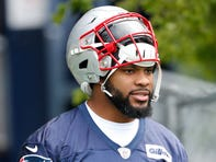 Patriots linebacker Elandon Roberts says he was harassed at home by police