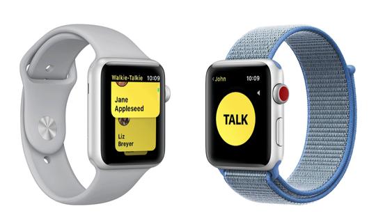 Apple Walkie-Talkie App.
