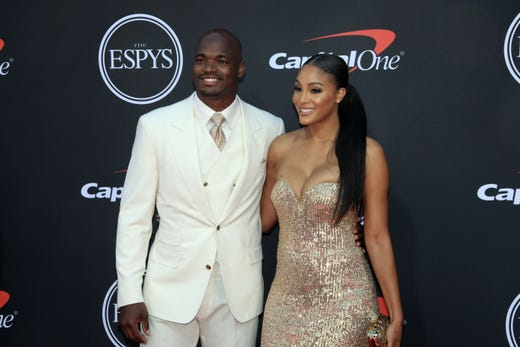 Adrian Peterson, NFL player.