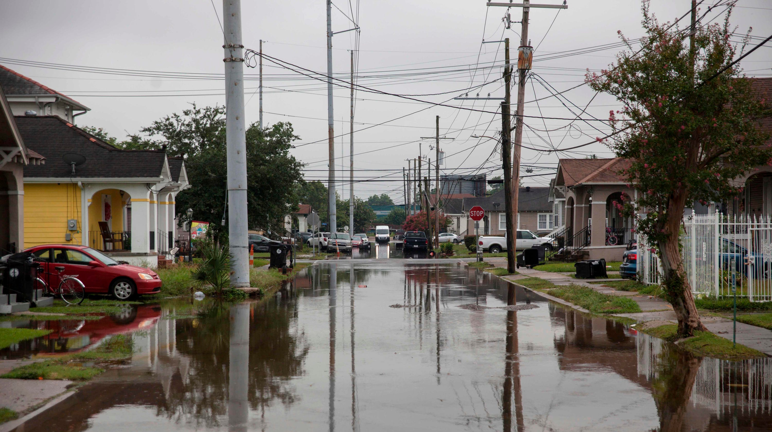 New Orleans is already flooded, and now a hurricane may be