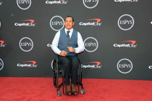 Oz Sanchez, Paralympic athlete.