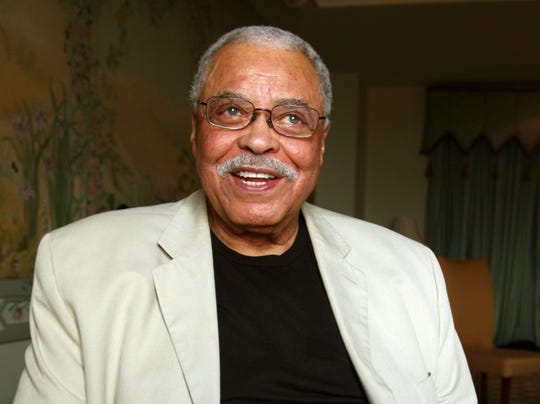 "In the new ""Lion King,"" James Earl Jones reprises the role of Simba's father, Mufasa, which he previously voiced in the 1994 animated film."