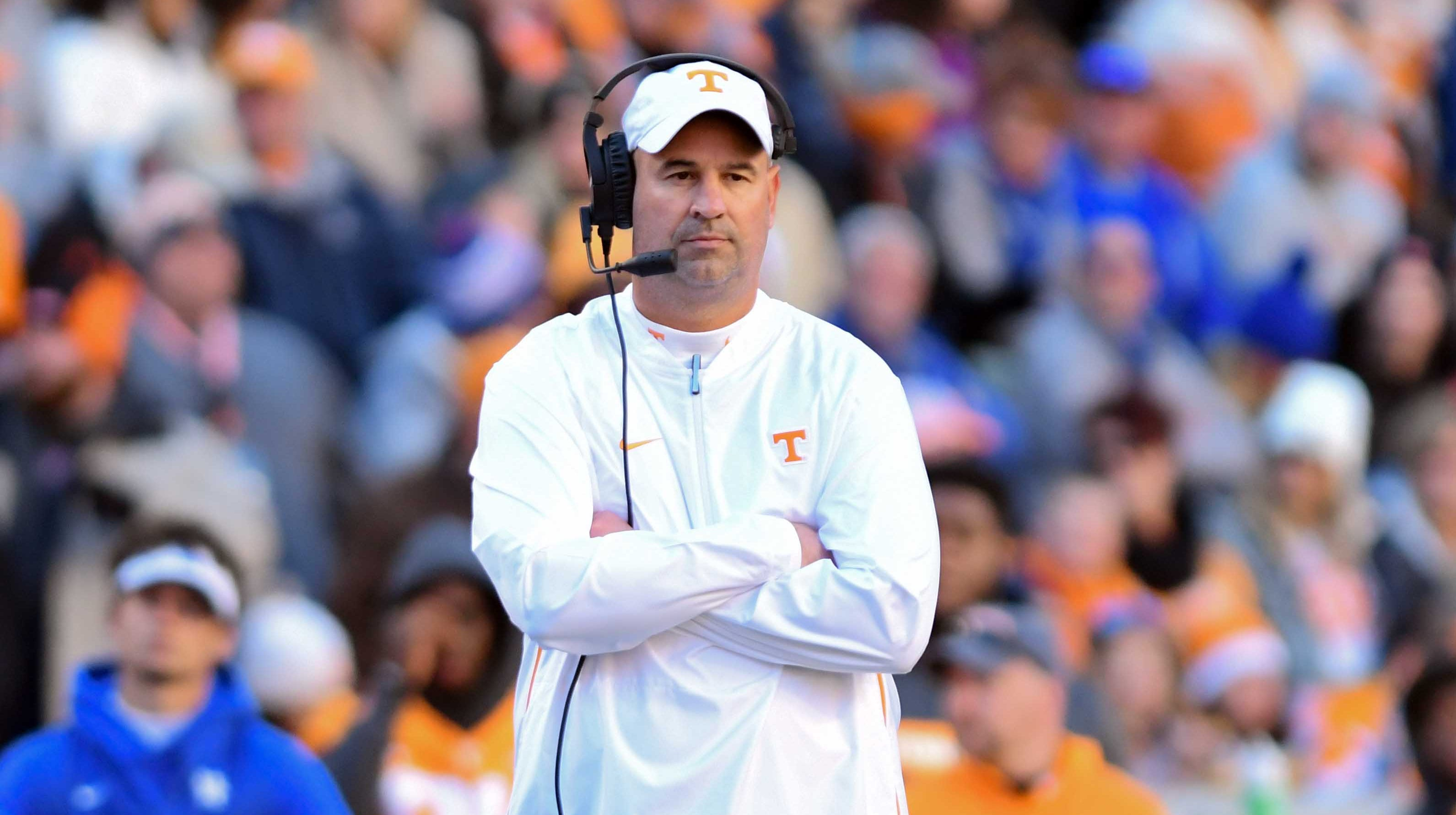 Tennessee Football Jeremy Pruitt Commits Ncaa Violation With Tweet