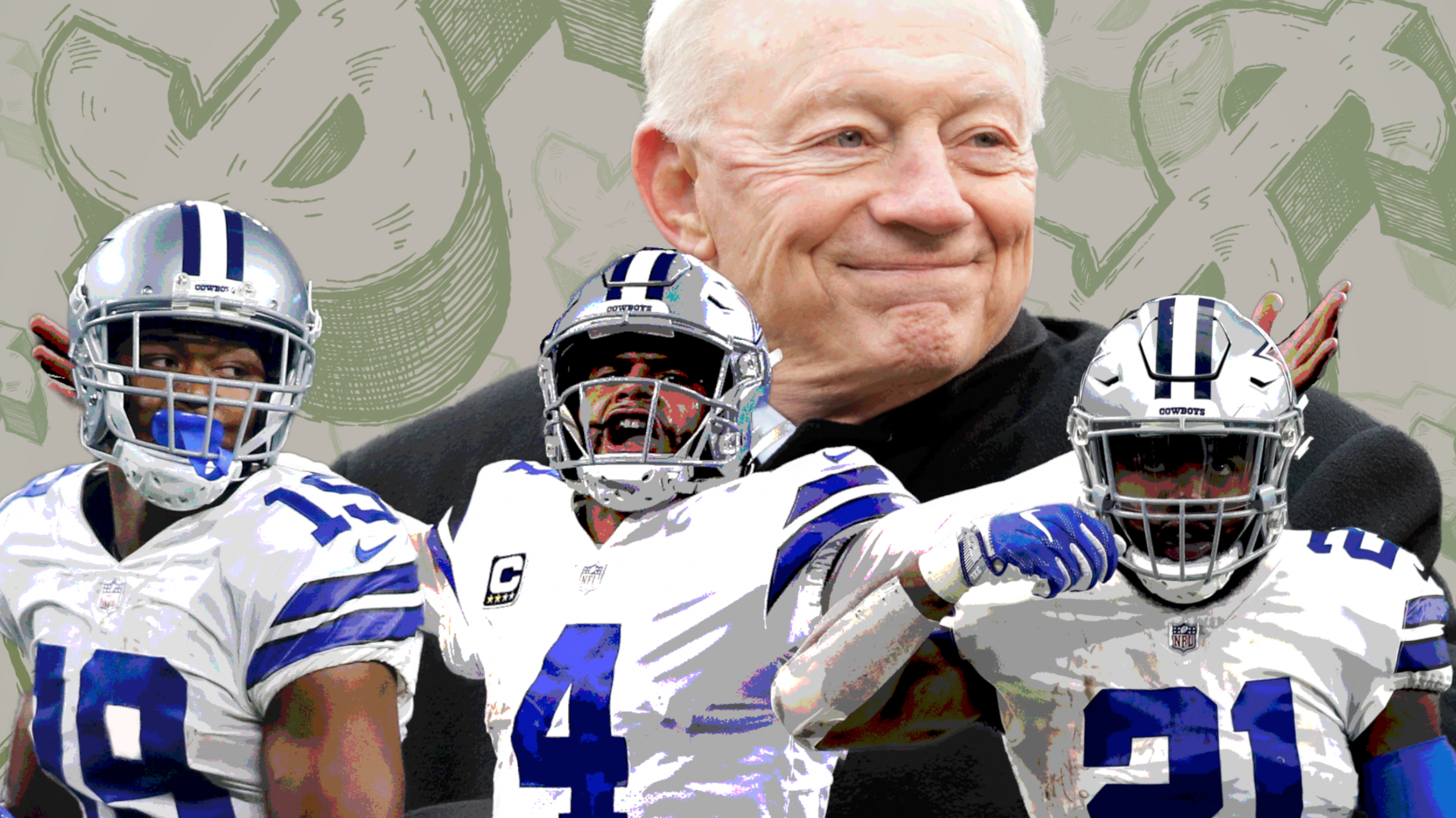 pretty nice 23037 8f645 Dak Prescott thinks the Cowboys can keep (and pay) everyone