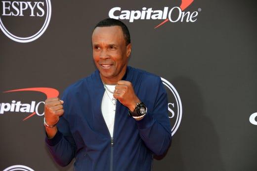 Sugar Ray Leonard, former boxer.