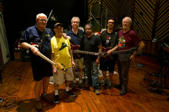 British classic rock band Nektar rode the Billboard charts and headlined international concert tours in the early 1970s before moving to NJ, breaking up and most members settling here for life. Now, three living original members, plus others, are recording a 50th anniversary reunion album at the Jersey Shore and planning a final tour.