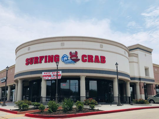 Surfing Crab opened at 6418 S. Staples St., Suite 124 near the Saratoga Boulevard intersection on Corpus Christi's Southside.