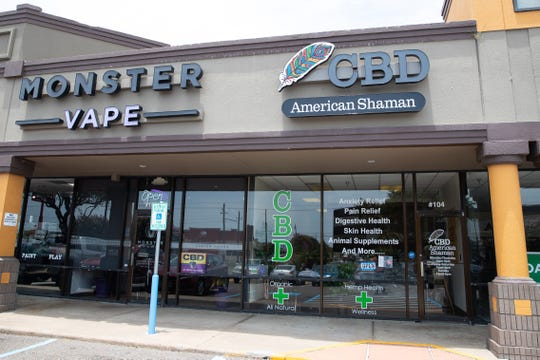 American Shaman a CBD store located on Corpus Christi South Side.