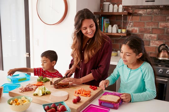 Having conversations and getting kids involved in prepping meals can help encourage good eating habits.
