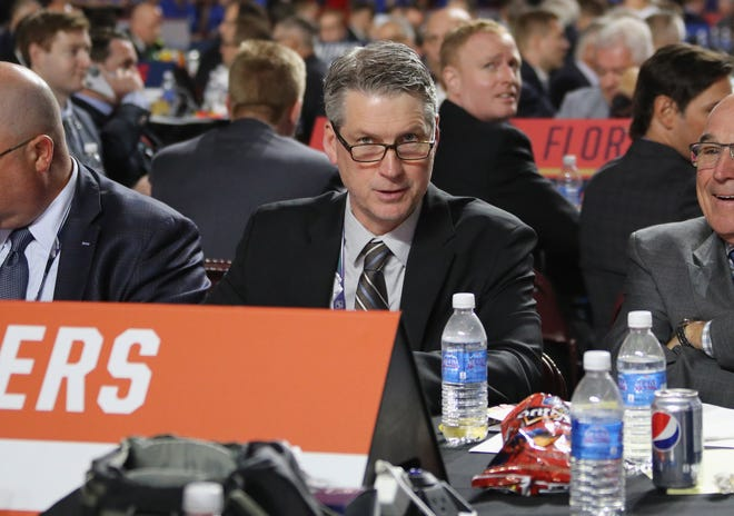 Flyers general manager Chuck Fletcher will now also carry the title of team president after Paul Holmgren stepped down to an advisory role.