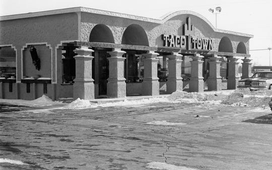 Taco Town was located at 1055 N. Bridge St. and opened in July 1978.
