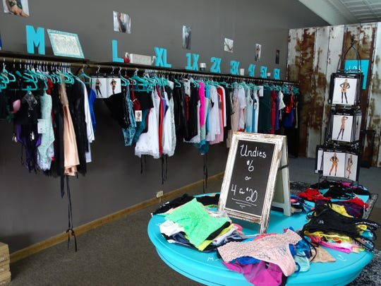 CC Boudoir Boutique features items sized extra small to six extra large. The wide range of sizing allows all customers to find clothing they love, according to owner Christin Clever.