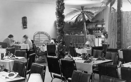 The interior of the Diamond Head restaurant at 33 N. Paint Street.