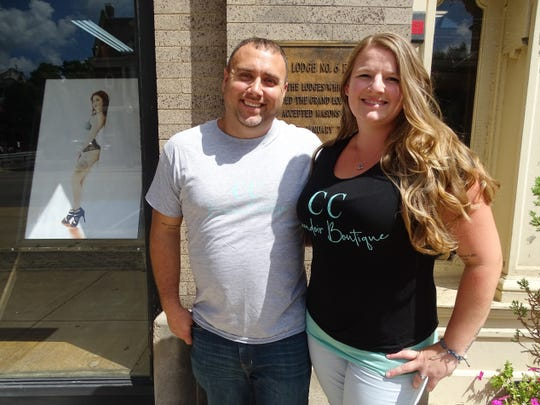 Seth and Christin Clever opened CC Boudoir Boutique in April 2019 when Christin saw a need for an affordable lingerie store in Chillicothe.