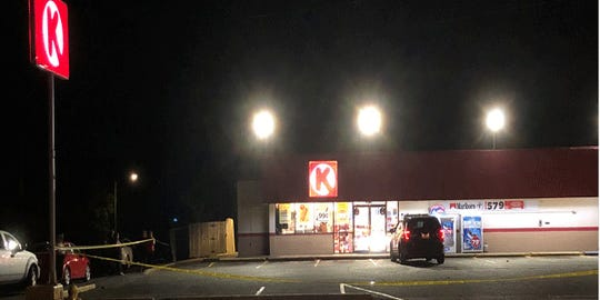 A clerk was shot and injured at the Circle K on Grand Boulevard in Hamilton early Friday, according to Butler County dispatchers.