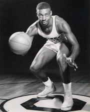 FEBRUARY 22, 1959: Oscar Robertson, University of Cincinnati basketball William R. Whitteker, Photographer Scanned 2/26/2018 UC basketball