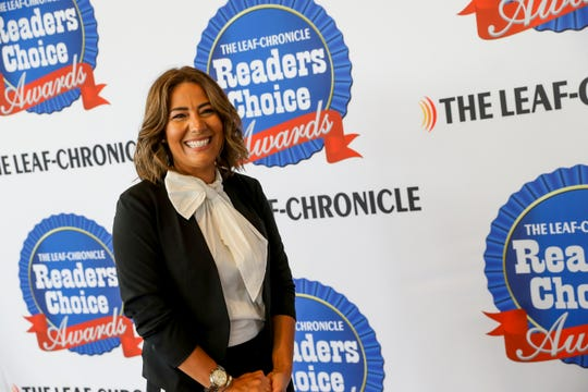 Hanna Fahmy from Alterations By Hanna, winner of Favorite Alteration Shop, at the Clarksville Leaf-Chronicle's 2019 Reader's Choice Awards on Thursday, July 11, 2019.