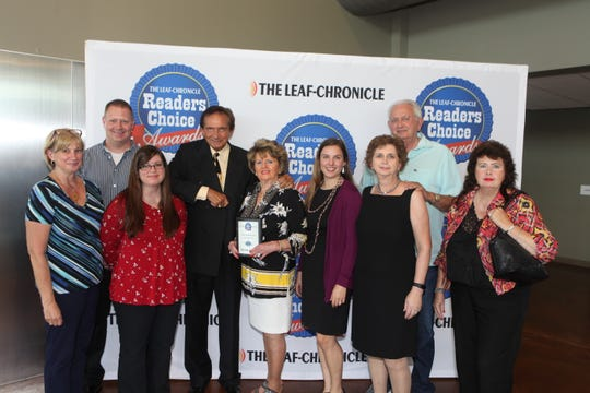 Golden Eagle Jewelry won Favorite Jewelry Store at The Leaf-Chronicle's Readers Choice Awards reception on Thursday, July 11, 2019.