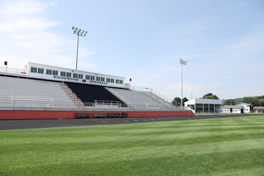 Ridgewood High School will build a new field house for their football stadium. The facility will be built where the band stand is now.