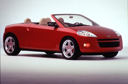 The Ford Libre concept car debuted at the 1998 Chicago auto show.