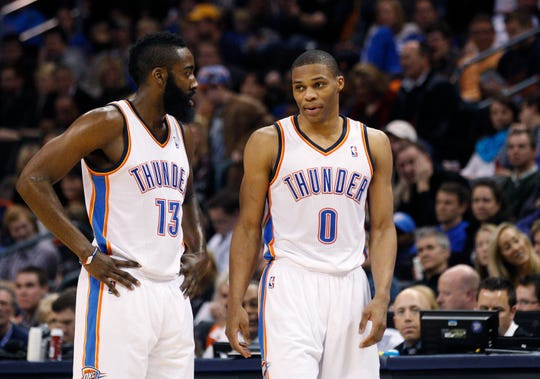 new style 8fa28 64481 Russell Westbrook, James Harden will need to change to make ...