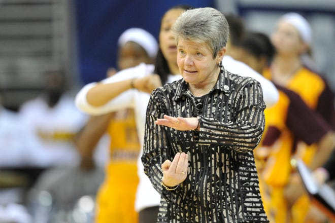 Sue Guevara has retired from Central Michigan but her title streak is still alive.