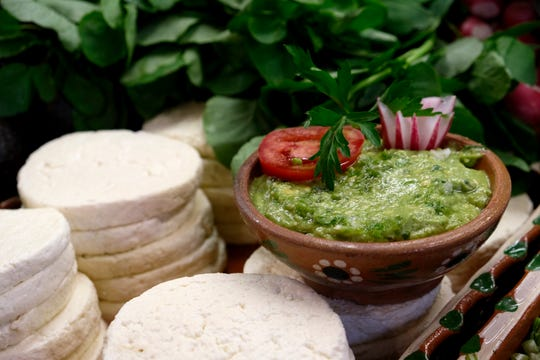 A bowl of guacamole at the El Hidalguense restaurant in Mexico City, Friday, July 12, 2019.