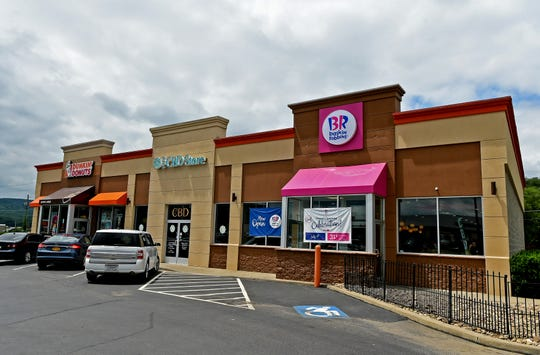"Baskin-Robbins' ""Moments"" ice cream store, at 3317 Chambers Road in Horseheads, celebrated its grand opening on July 12, 2019. It is the first Baskin-Robbins store of its kind in New York state."