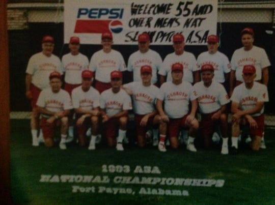 The Oshkosh Ambassadors started in the 1990s and brought senior softball to the city.