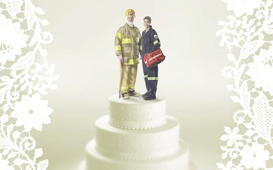 Paramedic and firefighter spouses support each other on, off the job