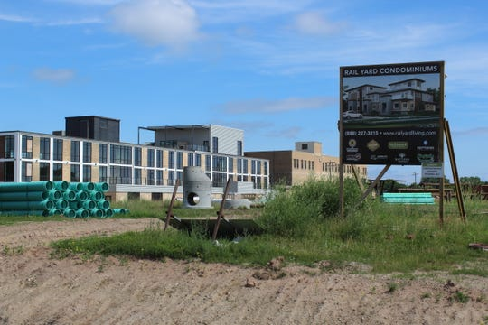 Much of the new residential construction in Green Bay in recent years has focused on higher-end construction like the Rail Yard Condominiums. Work will begin nearby on Broadway Lofts, a 107-unit  affordable housing project.