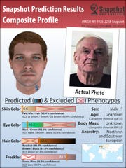 DNA analysis and genetic genealogy allowed Parabon researchers to develop several predictions about the suspect's appearance. Parabon had to guess at things like age and body mass at the time of the crime.