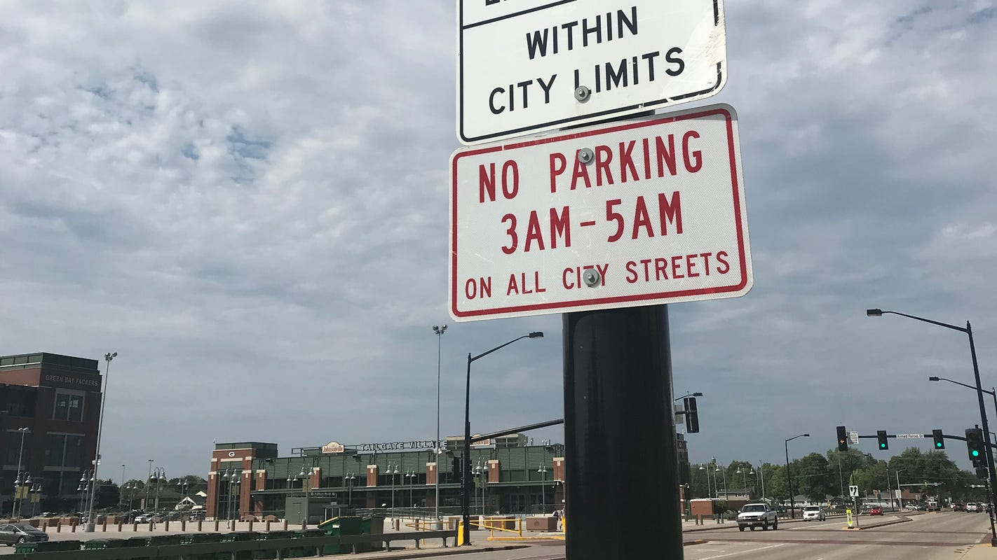 Green Bay City Council approves overnight parking program to curb drunken driving