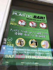 Samoa recently implemented a ban on plastic products.