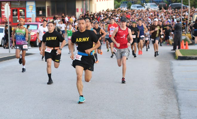 More than 1,500 participants took part in the Annual Taotaomona Run/Walk/Stroll at Guam Premier Outlets July 6.
