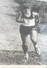Matt Wickham set a course record in cross country at his high school in Marietta, Ohio.